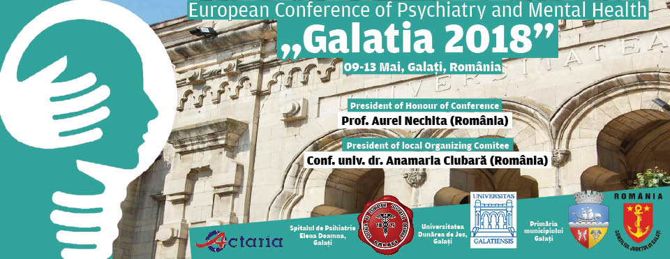 """European Conference of Psychiatry and Mental Health """"Galatia 2018"""""""