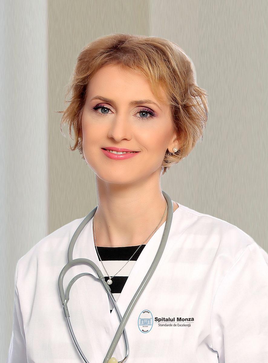 Dr. Laura Ene, medic primarîn Diabet, Nutriție și Boli Metabolice