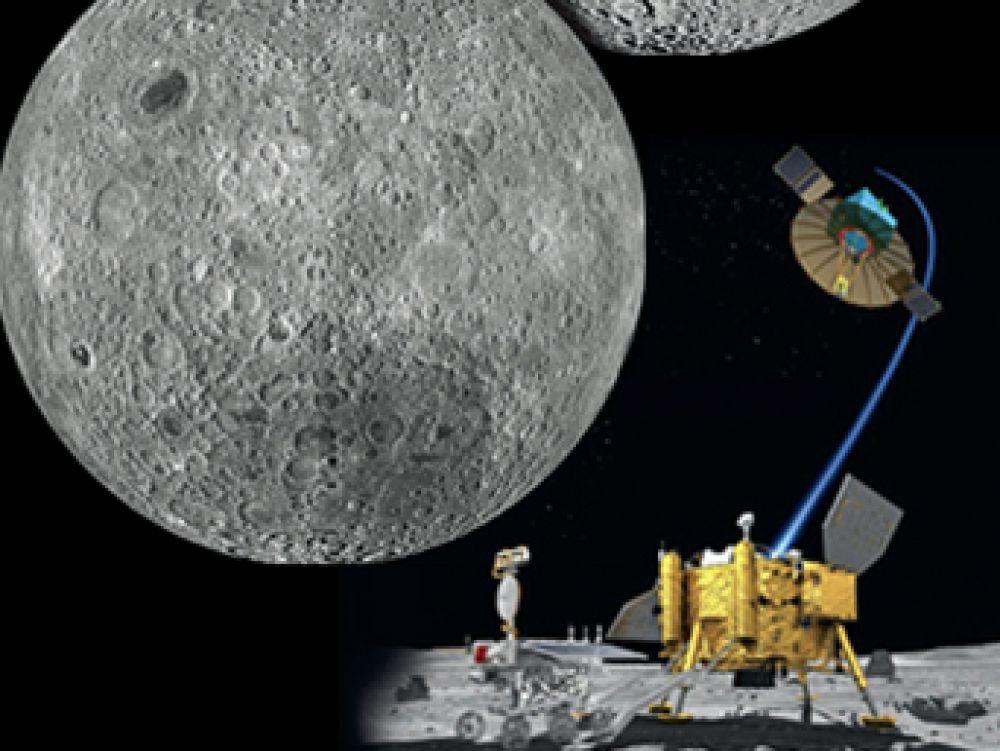 Un modul spațial de explorare lansat de China se pregătește să aselenizeze pe fața nevăzută a Lunii