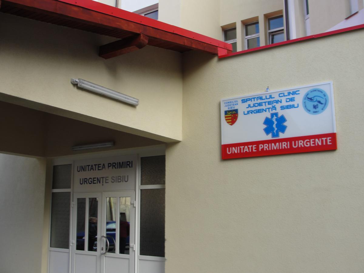 Sibiu. O asistentă medicală a fost lovită de un pacient în timp ce îl îngrijea