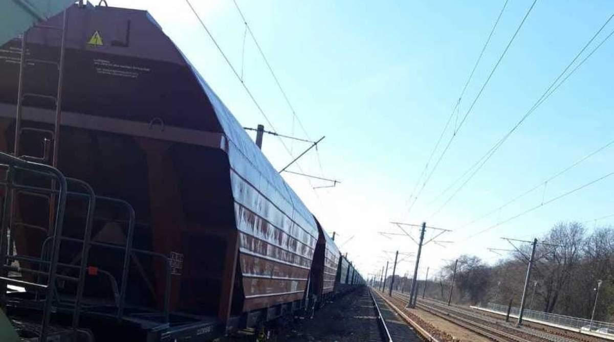 Copil în stare gravă, după ce a încercat să-și facă un selfie pe un vagon de tren