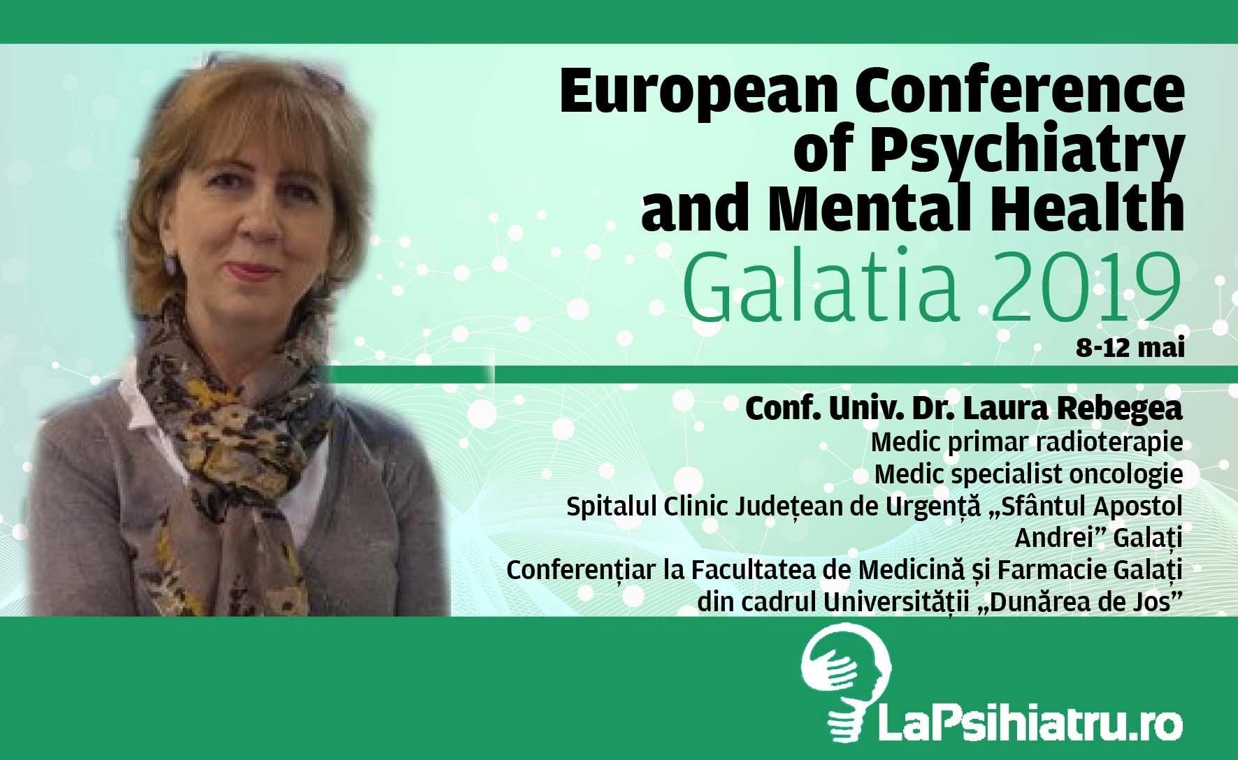 """Conf. Univ. Dr. Laura Rebegea, despre """"Psiho-Oncologie"""""""