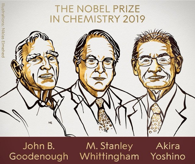Laureații Premiului Nobel pentru Chimie - 2019