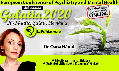 Galatia 2020. Depresia reactivă și organică în îngrijirile paliative, diferențe de abordare