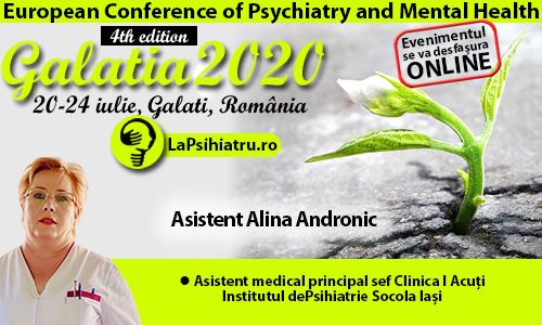 Galatia 2020. Abordarea pacientului psihiatric diagnosticat cu Covid-19