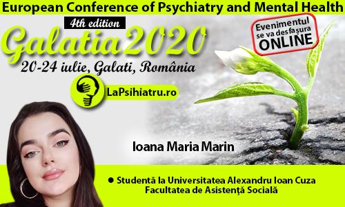 Galatia 2020. Conceptul de povară și manifestările acestuia la aparținătorii pacientului cu schizofrenie