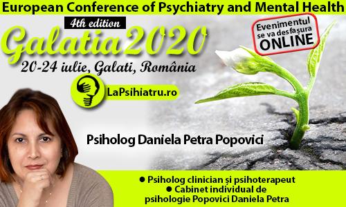Galatia 2020. Influența perfecționismului, stresului și anxietății asupra depresiei din tulburarea bipolară