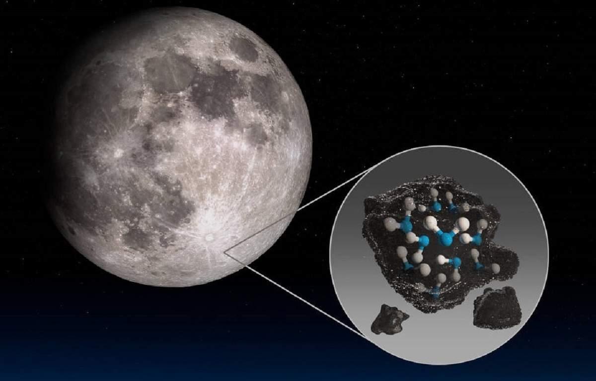 Premieră. A fost descoperită apă pe fața vizibilă a lunii. VIDEO
