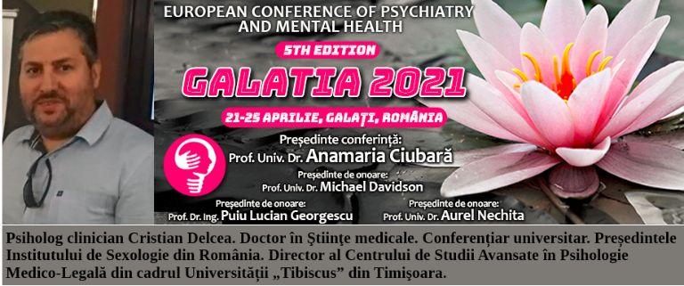 Psiholog clinician Cristian Delcea