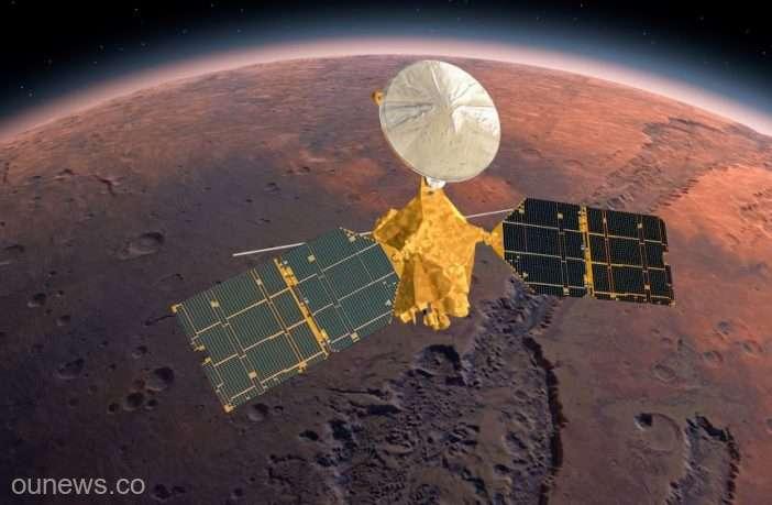 Vapori de apă, detectaţi în atmosfera planetei Marte