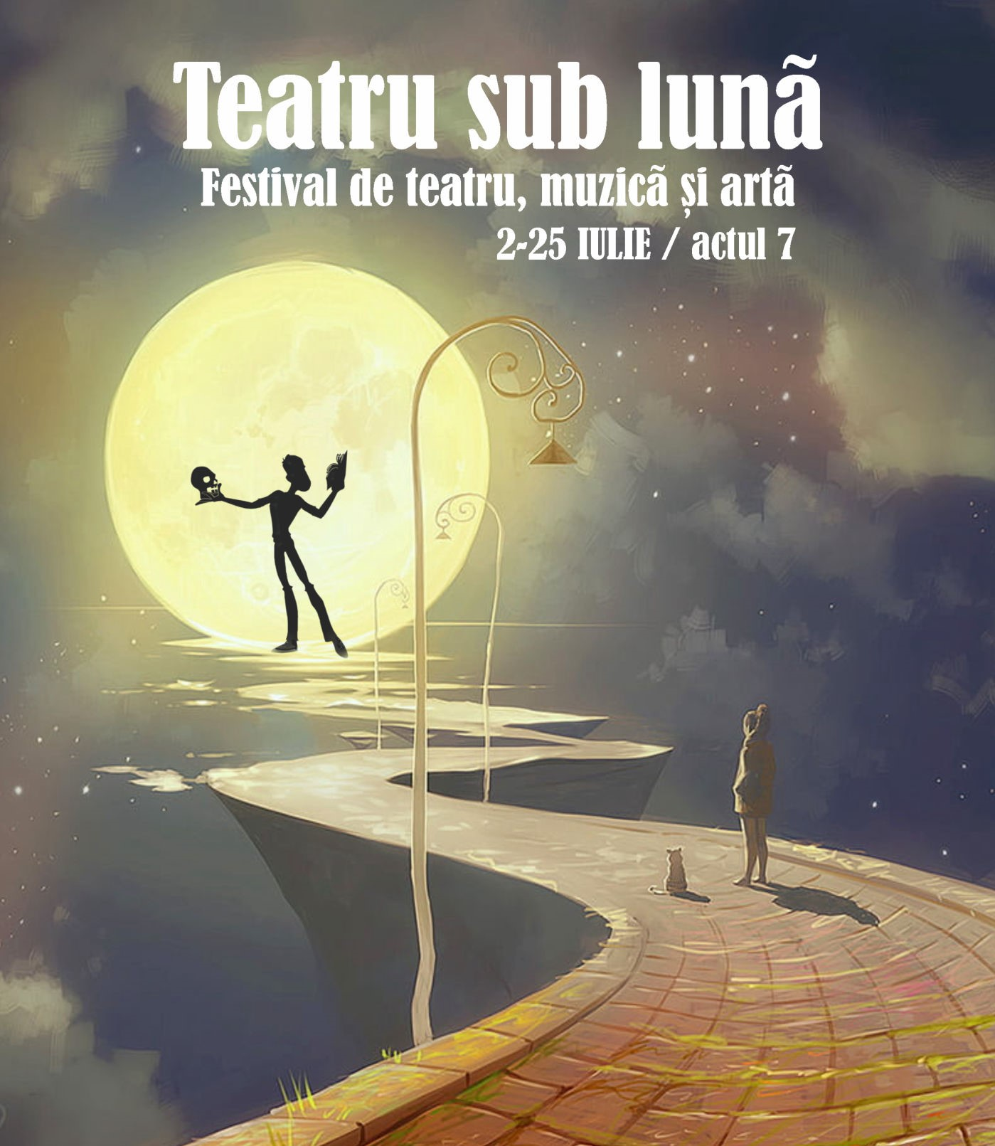 """Festivalul """"Teatru sub lună"""""""